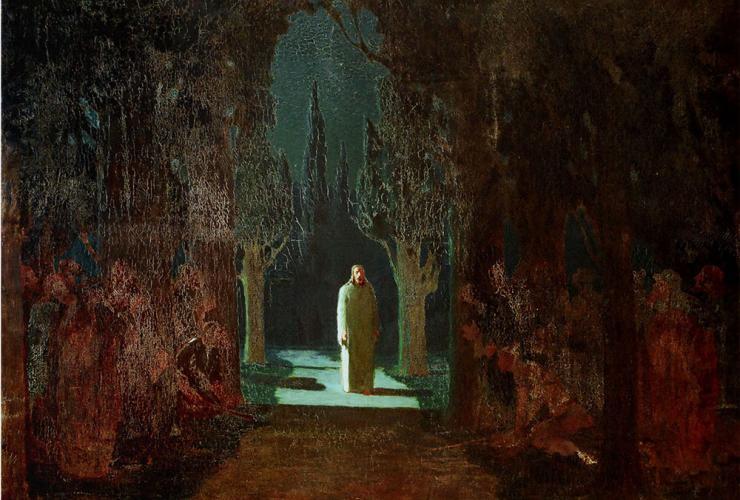 1-Jesus-in-Gethsamene-by-Arkhip-Kuindzhi